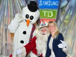 Santa & Frosty