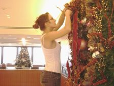 wreath decorating
